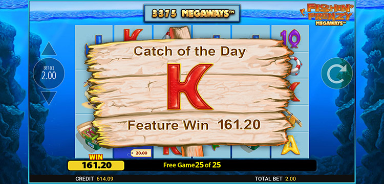 Play Fishin Frenzy Megaways